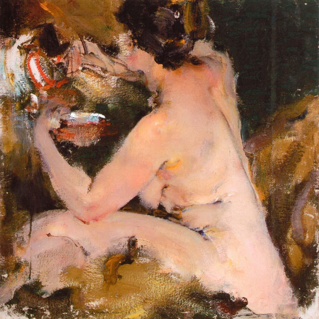 Николай Фешин (Nikolay Feshin), Ню (1920-е)