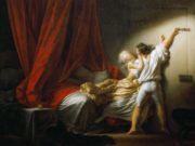 "Жан Оноре Фрагонар (Jean Honore Fragonard), ""Задвижка"""