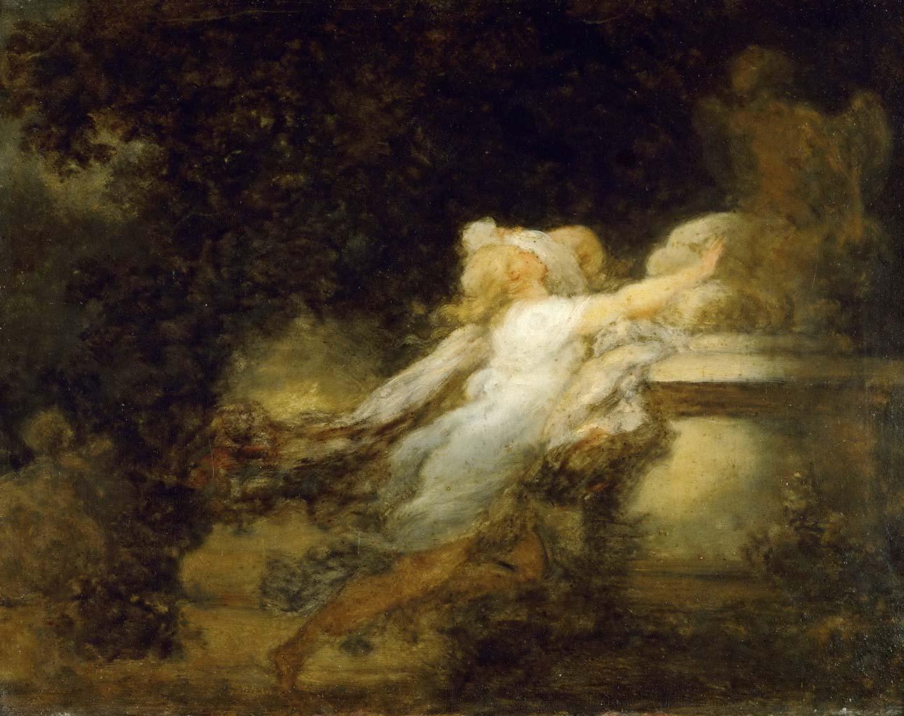 "Жан Оноре Фрагонар (Jean Honore Fragonard), ""Мольба о любви"""