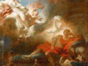 "Жан Оноре Фрагонар (Jean Honore Fragonard), ""Любовные грезы воина"""