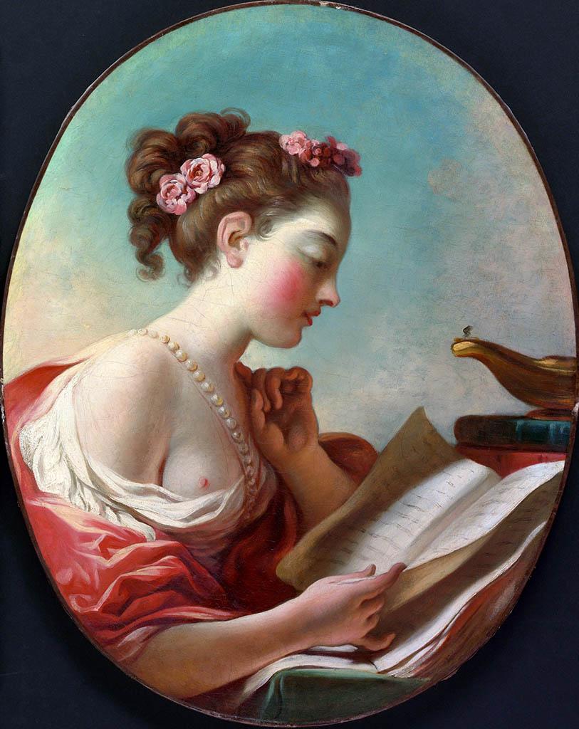 "Жан Оноре Фрагонар (Jean Honore Fragonard), ""Allegory of Vigilance"""