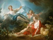 "Жан Оноре Фрагонар (Jean Honore Fragonard), ""Diana and Endymion"""