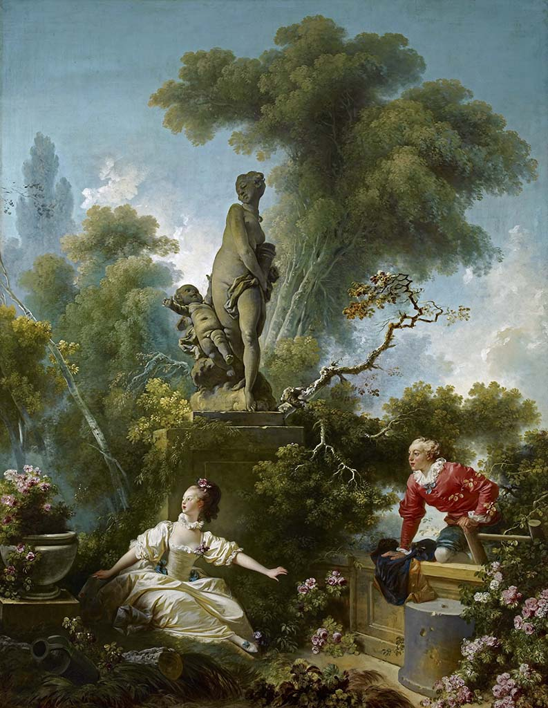 "Жан Оноре Фрагонар (Jean Honore Fragonard), ""The Progress of Love"""
