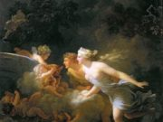 "Жан Оноре Фрагонар (Jean Honore Fragonard), ""The Fountain of Love (2)"""