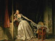 "Жан Оноре Фрагонар (Jean Honore Fragonard), ""The Stolen Kiss"""