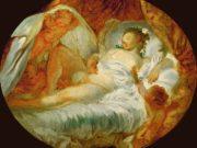 "Жан Оноре Фрагонар (Jean Honore Fragonard), ""Игра с огнем"""