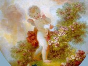 "Жан Оноре Фрагонар (Jean Honore Fragonard), ""Страж любви"""