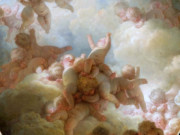 "Жан Оноре Фрагонар (Jean Honore Fragonard), ""Парад Амуров"""