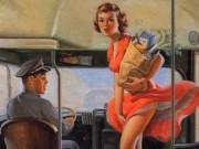 """Арт Фрам (Art Frahm), """"Дамы в беде"""" Падающие трусики - 9"""