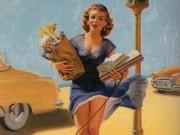 """Арт Фрам (Art Frahm), """"Дамы в беде"""" Падающие трусики - 10"""