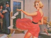 """Арт Фрам (Art Frahm), """"Дамы в беде"""", Падающие трусики - 11"""