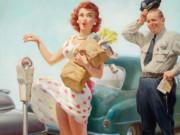 """Арт Фрам (Art Frahm), """"Дамы в беде"""", Падающие трусики - 3"""