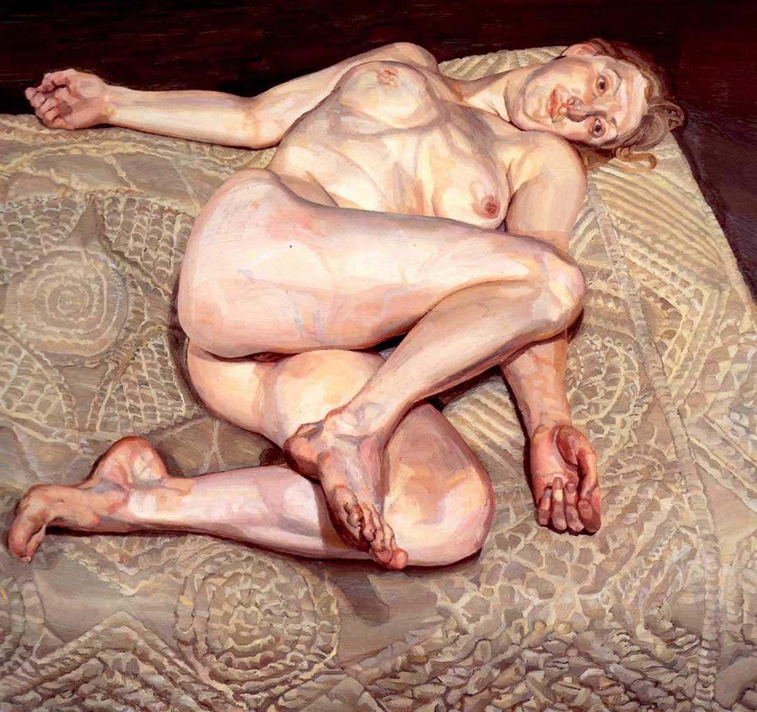 """Люсьен Фрейд (Lucian Freud), """"Ночной портрет"""""""