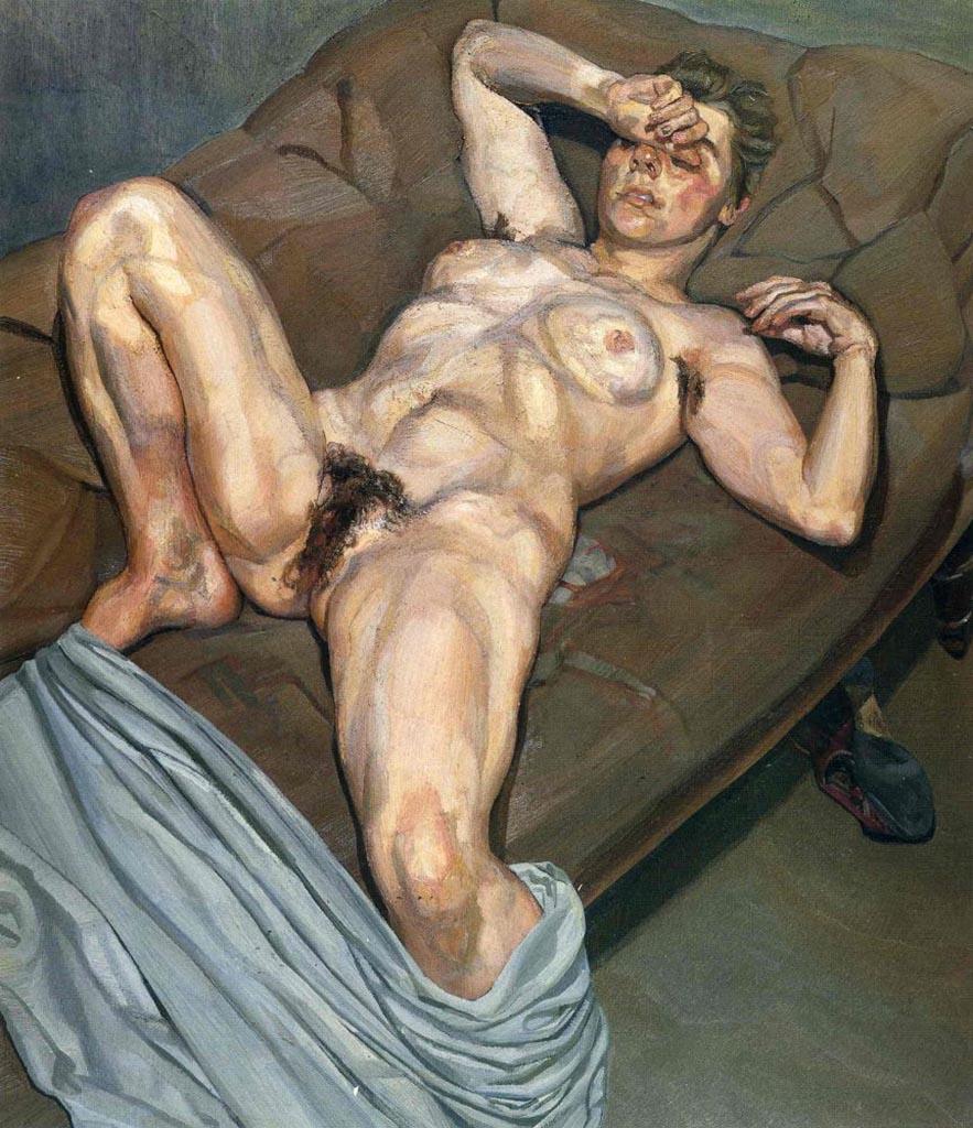 """Люсьен Фрейд (Lucian Freud), """"Портрет Роуз"""""""