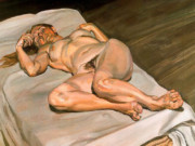 "Люсьен Фрейд (Lucian Freud), ""Night Portrait (2)"""
