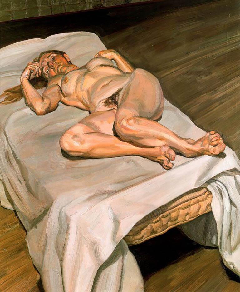 "Люсьен Фрейд (Lucian Freud), ""Night Portrait (2)"""