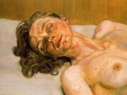 "Люсьен Фрейд (Lucian Freud), ""Girl with closed eyes"""