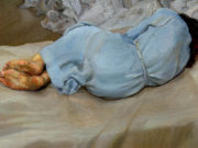 "Люсьен Фрейд (Lucian Freud), ""Спящая Аннабель"""