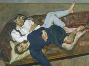 "Люсьен Фрейд (Lucian Freud), ""Bella and Esther"""