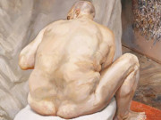 "Люсьен Фрейд (Lucian Freud), ""Naked Man Back View"""