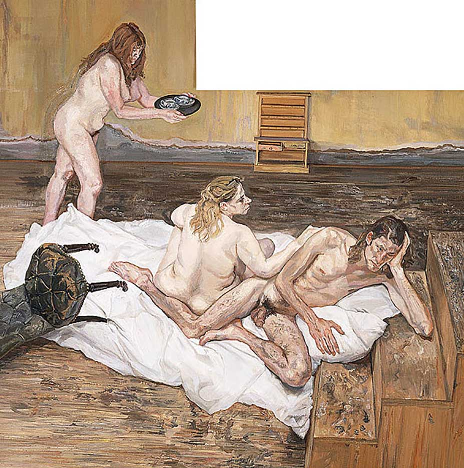 "Люсьен Фрейд (Lucian Freud), ""After Cezanne"""