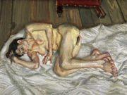 "Люсьен Фрейд (Lucian Freud), ""После завтрака"""