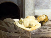 "Люсьен Фрейд (Lucian Freud), ""Sleeping Nude"""
