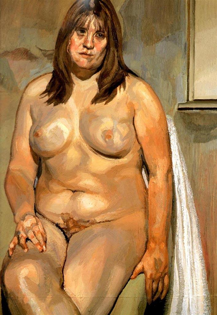 """Люсьен Фрейд (Lucian Freud), """"Дочь мясника"""""""