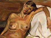 "Люсьен Фрейд (Lucian Freud), ""Кейт Мосс"""