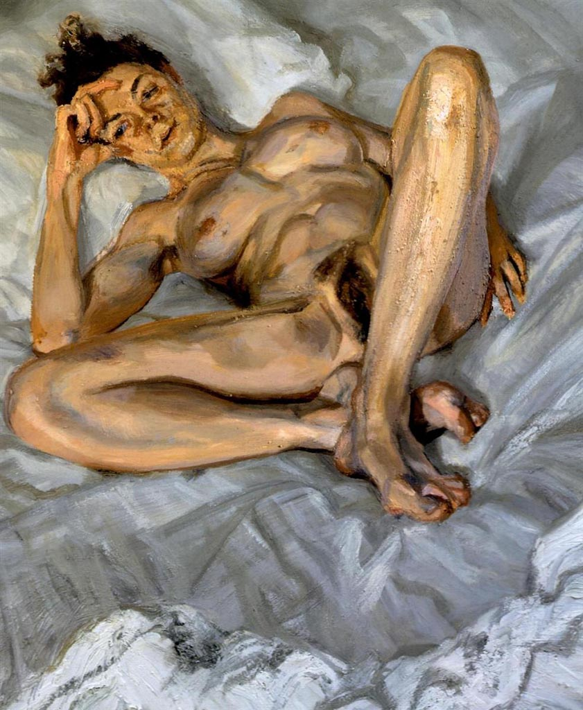 """Люсьен Фрейд (Lucian Freud), """"Портрет обнаженной (5)"""""""