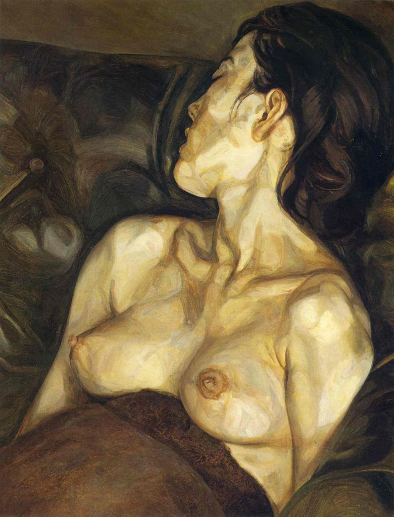 "Люсьен Фрейд (Lucian Freud), ""Беременная девушка"""