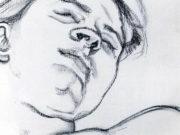 "Люсьен Фрейд (Lucian Freud), ""Сюжет (11)"" (Drawing)"