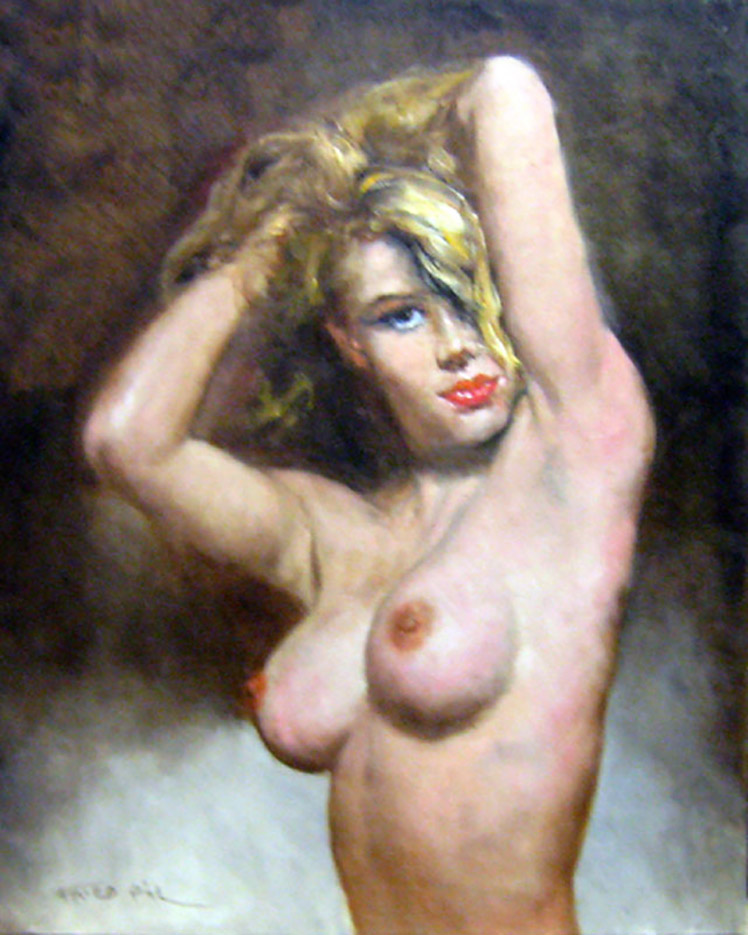"Пал Фрид (Pal Fried), ""Nude"""