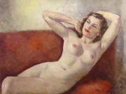 "Пал Фрид (Pal Fried), ""Reclining Nude"""