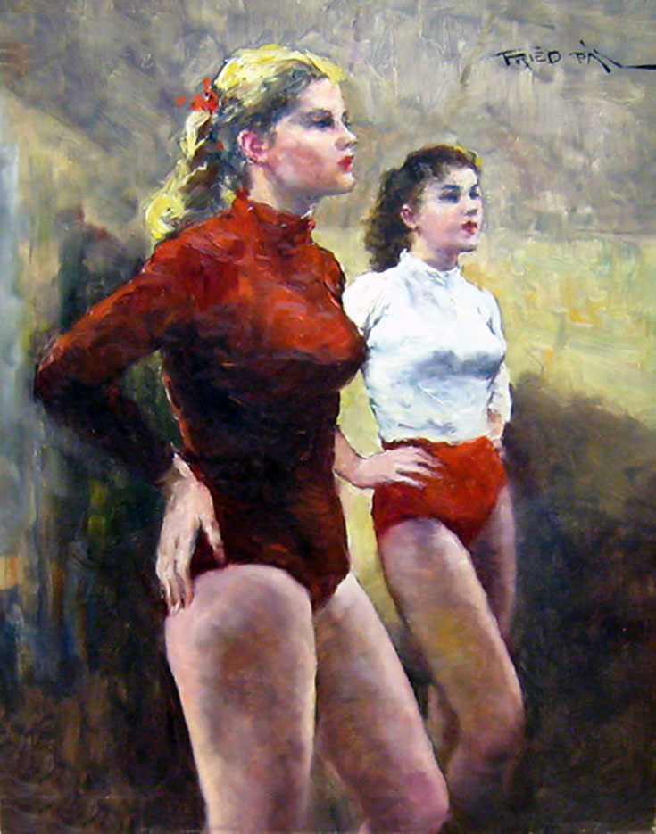 "Пал Фрид (Pal Fried), ""Two Dancers"""