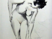"Пал Фрид (Pal Fried), ""Nude sketch"""