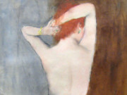 "Пал Фрид (Pal Fried), ""Red Head Nude Black Stockings"""