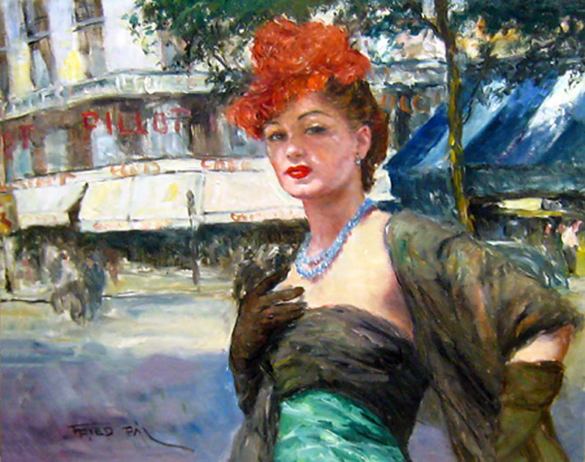 """Пал Фрид (Pal Fried), """"Paris (Red Hat)"""""""