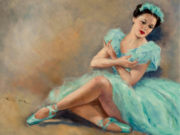 "Пал Фрид (Pal Fried), ""Балерина в голубом"""