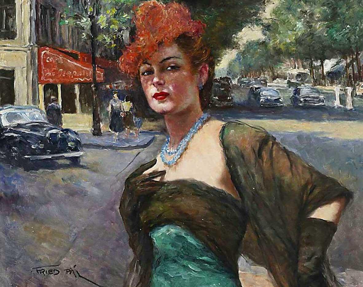 """Пал Фрид (Pal Fried), """"На парижских улицах-2"""""""
