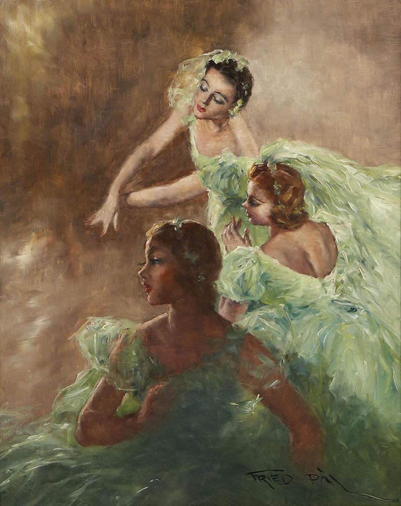 "Пал Фрид (Pal Fried), ""Три балерины"""