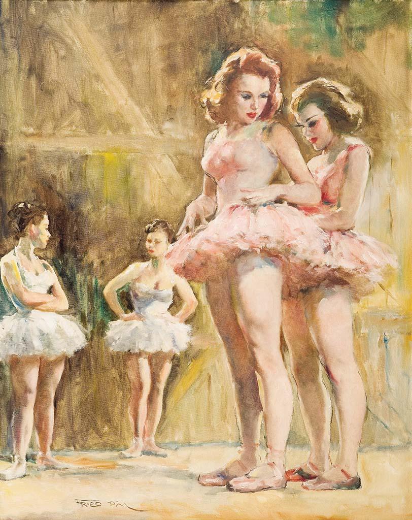 "Пал Фрид (Pal Fried), ""Четыре балерины"""
