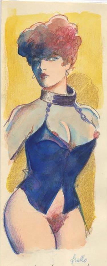 "Леон Фролло (Leone Frollo) ""Woman in Chains"""