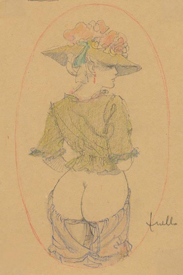 "Леон Фролло (Leone Frollo) ""Vintage Girl"""