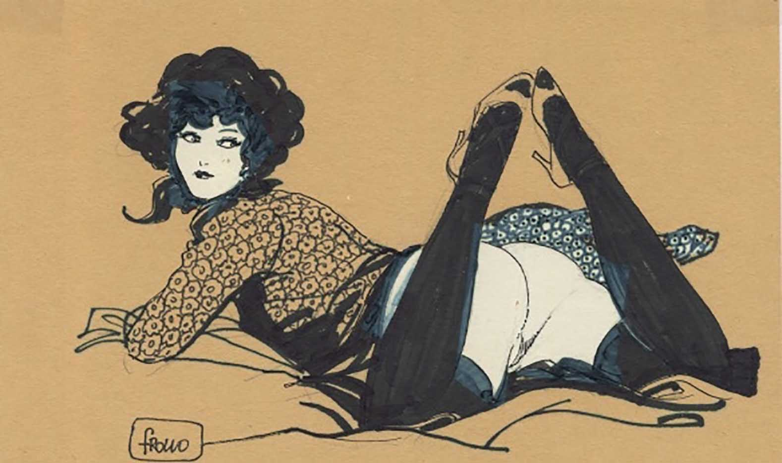 "Леон Фролло (Leone Frollo) ""Flower Lady"""