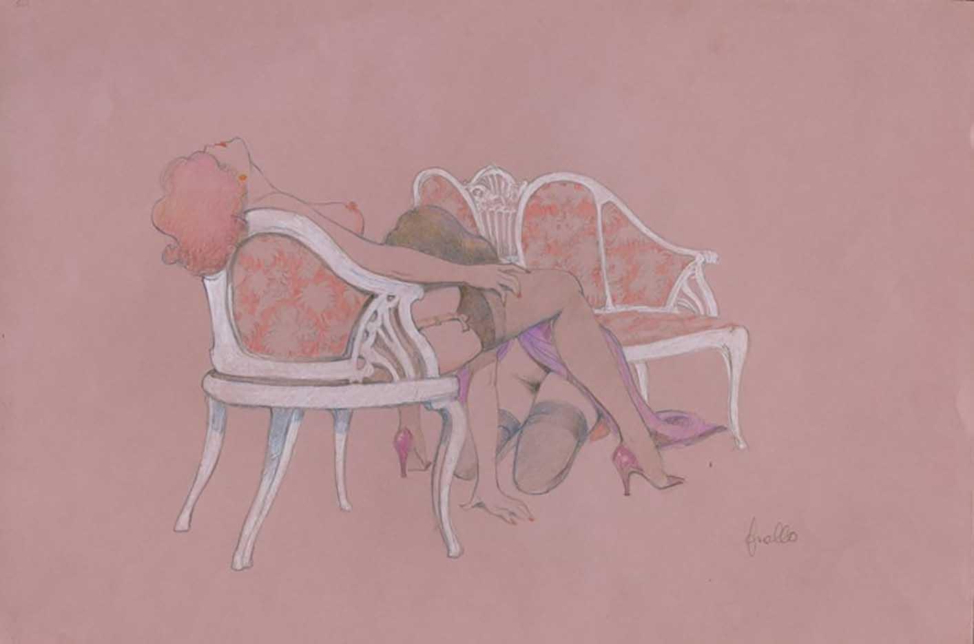 """Леон Фролло (Leone Frollo) """"2 Ladies"""""""