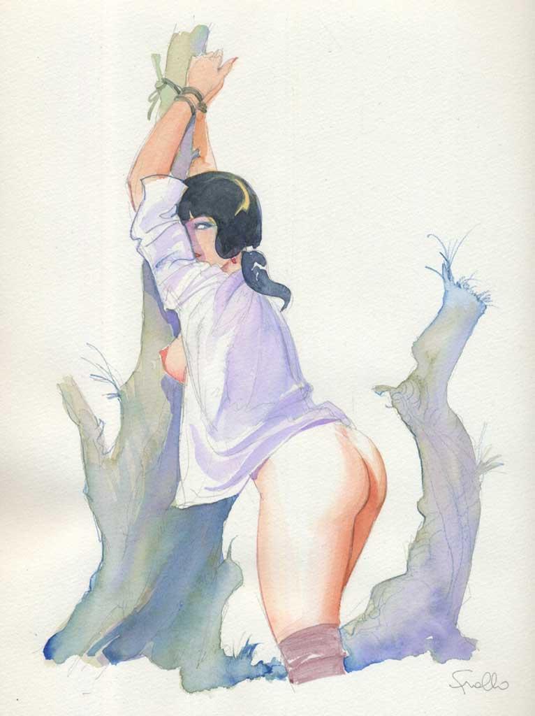 "Леон Фролло (Leone Frollo) ""Tied-up Woman"""