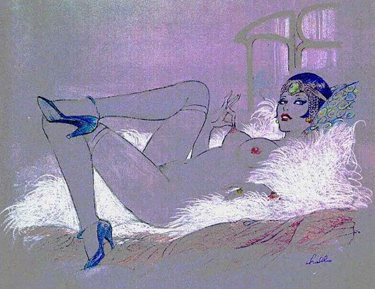 "Леон Фролло (Leone Frollo) ""Untitled - 79"""