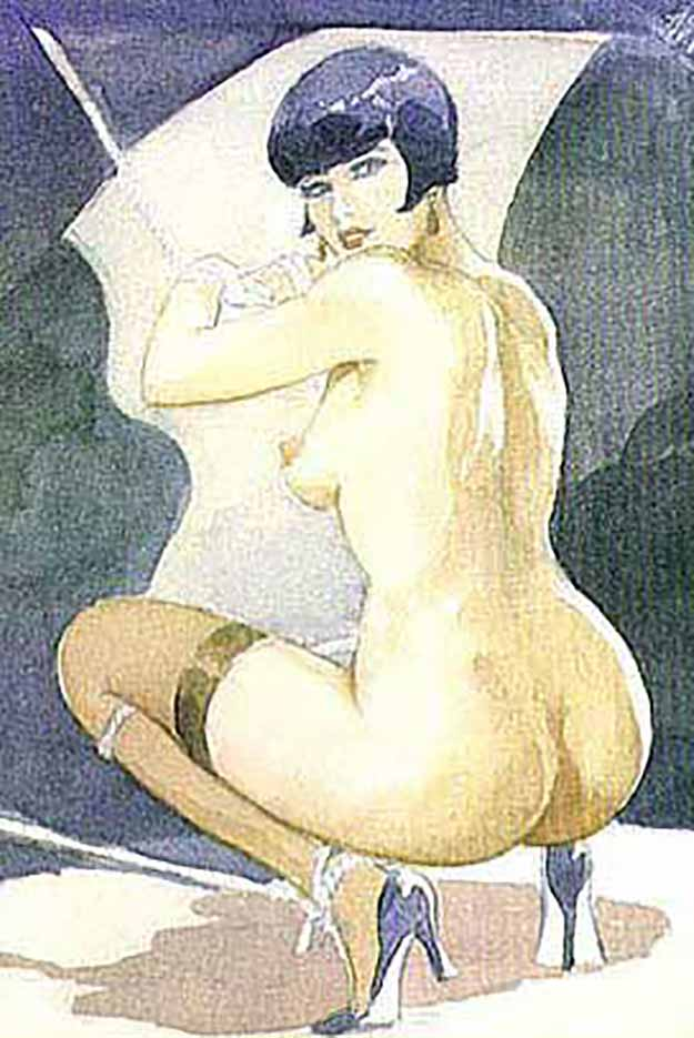"Леон Фролло (Leone Frollo) ""Untitled - 90"""