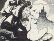 "Леон Фролло (Leone Frollo) ""Vampire Ladies"" (drawing)"